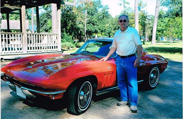 Dennis Durow Red Corvette