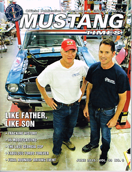 Mustang Times Cover